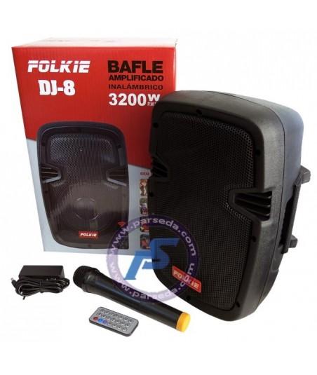 باند پرتابل شارژی 8 اینچ DJ8