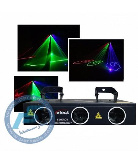 لیزر 3 کانال خطی ELECT – 3EYE RGB