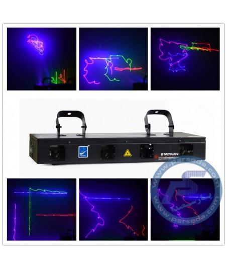 لیزر 4 کانال خطی MTS – B102RGB4
