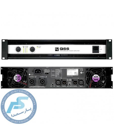 پاورآمپلی فایر EV - Q66