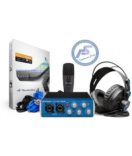 پکیج استودیوییPreSonus - AudioBox 96 Studio 