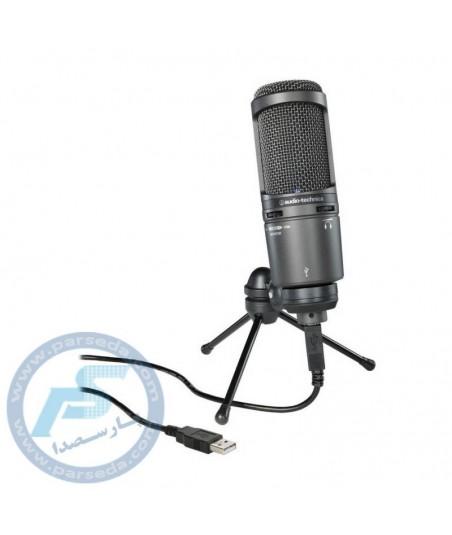 میکروفن USB استودیویی audio technica – AT2020USB+Plus