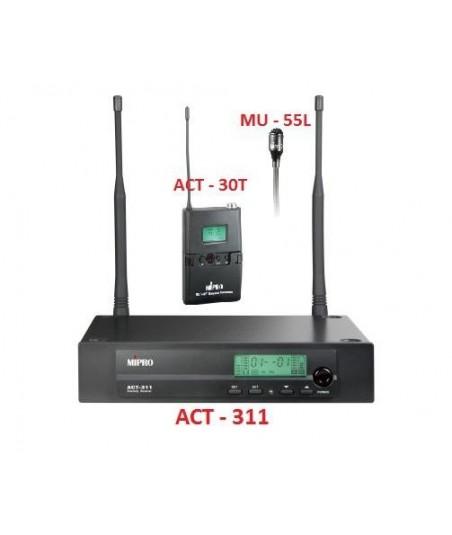میکروفون بیسیم یقه ای MIPRO-ACT311B