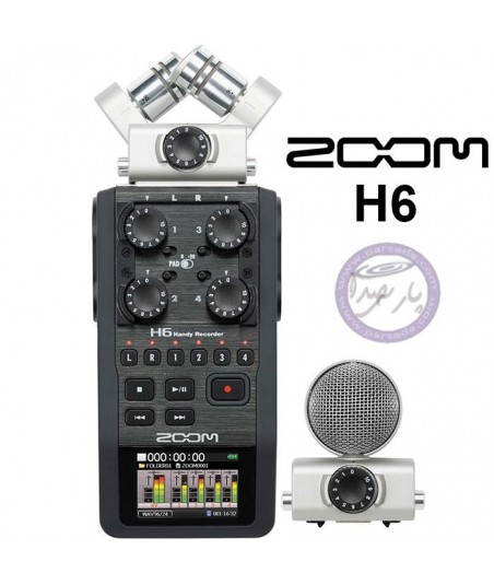 رکوردر دستی ZOOM H6