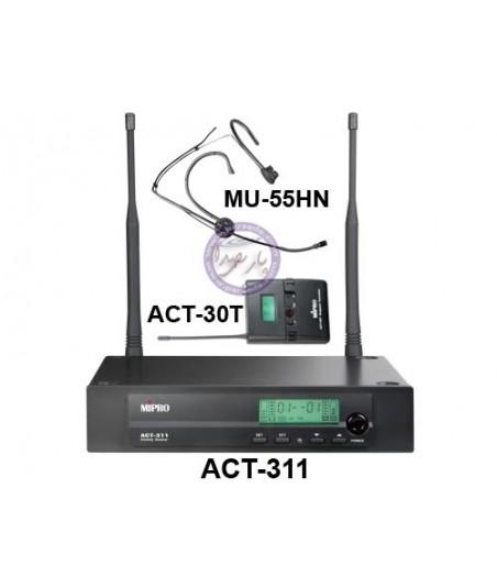 میکروفون بیسیم هدمیک MIPRO-ACT311