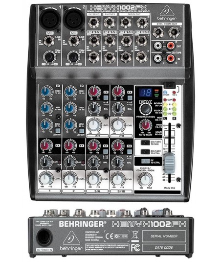 میکسر Behringer - XENYX 1002 FX
