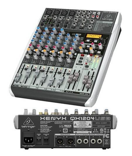 میکسر Behringer - XENYX QX 1204 USB