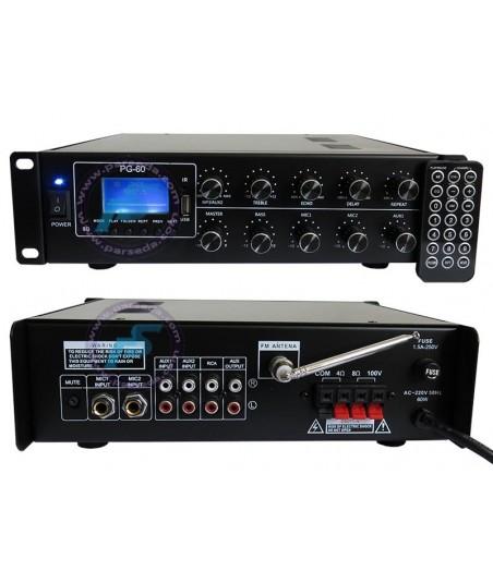 دستگاه مرکزی صوت PG60