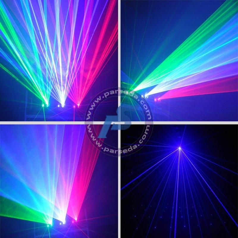 لیزر گرافیکی سه رنگ