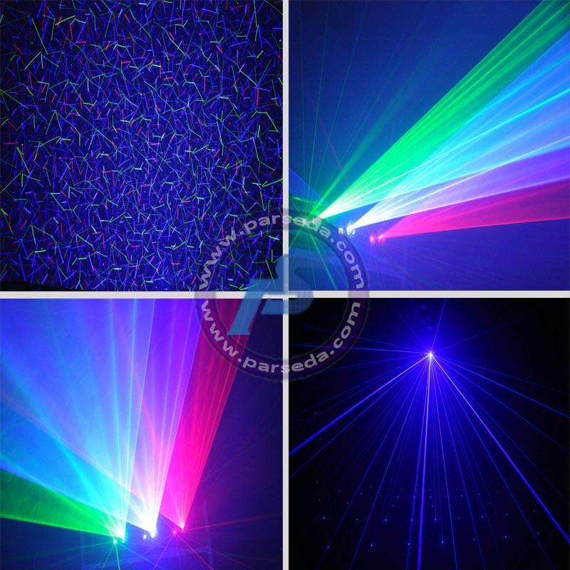 لیزر رنگی بارونی گرافیکی