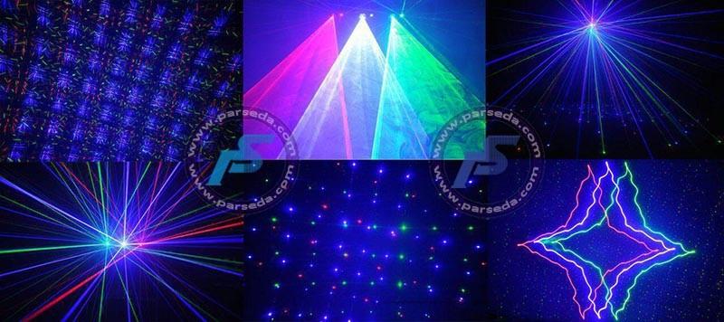لیزر 6 خط گرافیکی 3 رنگ
