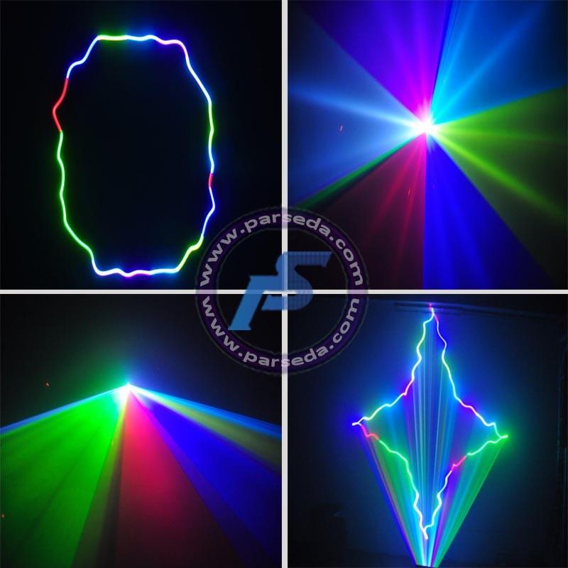 لیزر خطی 3 رنگ 500 میلی وات