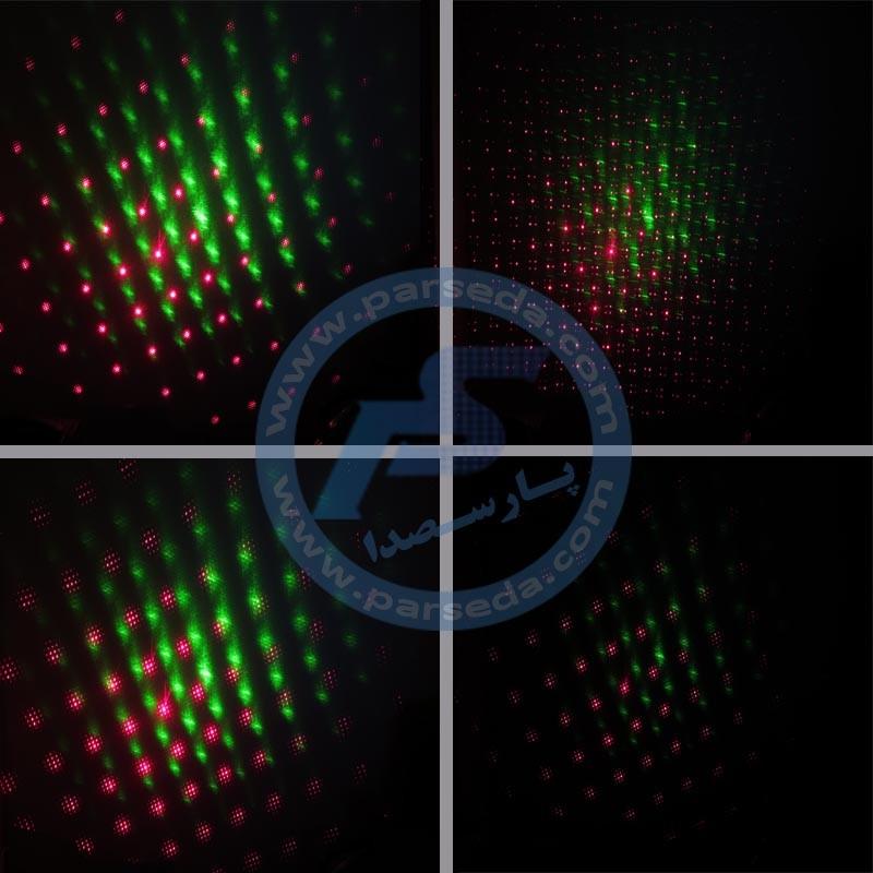 عکس افکت های لیزر مینی بارانی