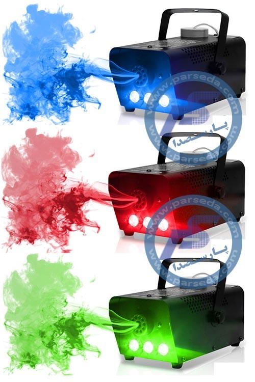 دستگاه بخار رنگی
