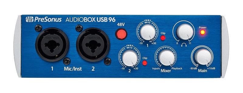 کارت صدا presonus audiobox 96 usb