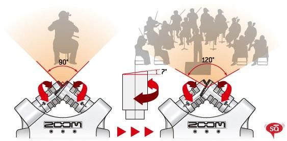 کپسول رکوردر zoom h4nsp
