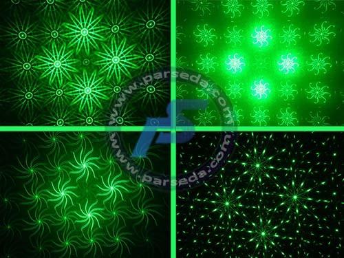 دستگاه لیزر دو رنگ سبز قرمز
