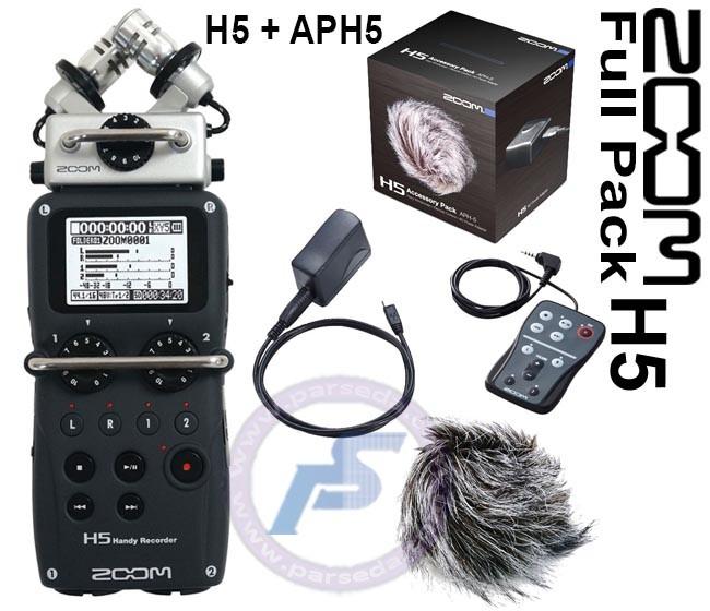 پک رکوردر ZOOM H5 APH5