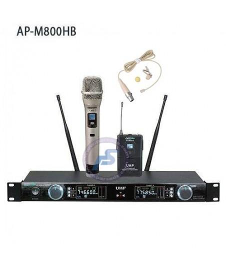 میکروفون بیسیم 2 کانال AAP...