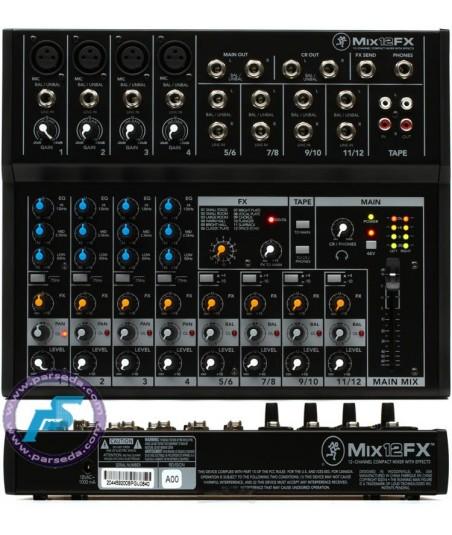 میکسر MACKIE - MIX12FX