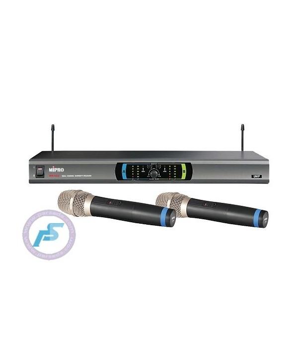 میکروفون بیسیم دو دستی MIPRO-MR 823