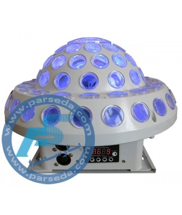 لیزر سفینه با LED گردان UFO