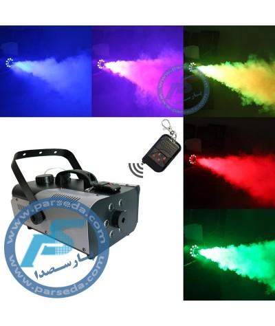 دستگاه بخار 900 وات LED رنگی
