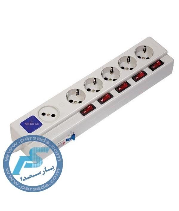 چند راهی برق کلید دار 16A