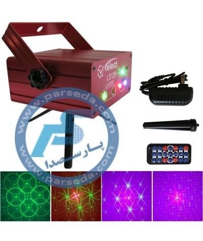 لیزر و LED RGB مدل 125...