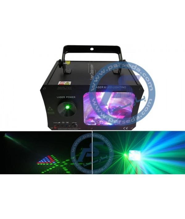 لیزر و LED باکس METALAX - 2 IN 1
