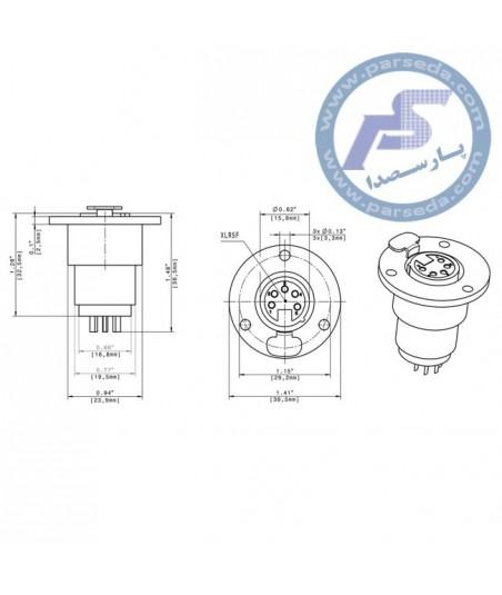 پایه تریبون نصبی MZT 30
