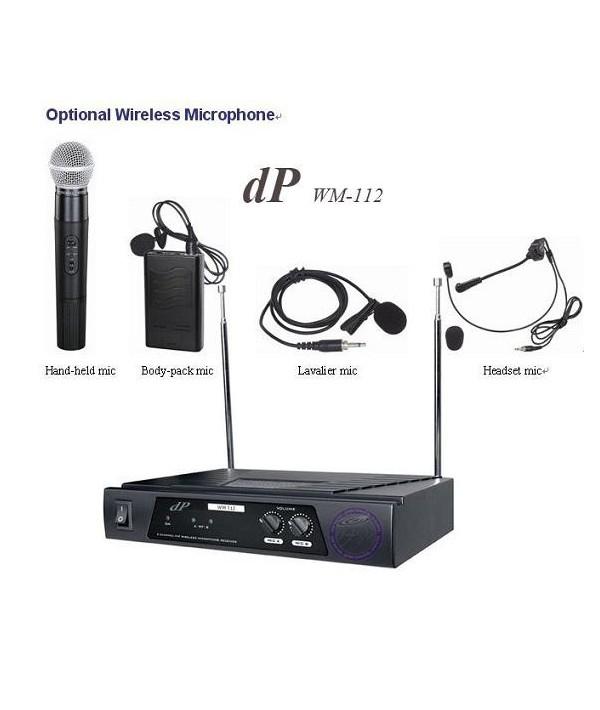میکروفون وایرلس dP-WM112 BH