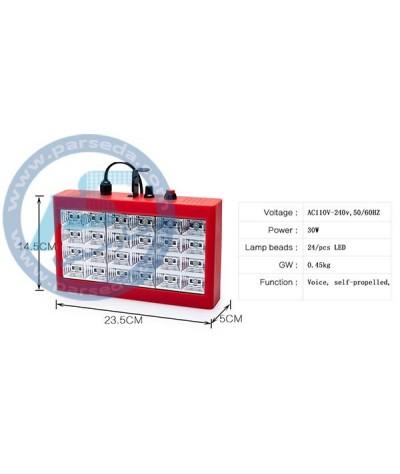 فلاشر LED – 24 رنگی RGB