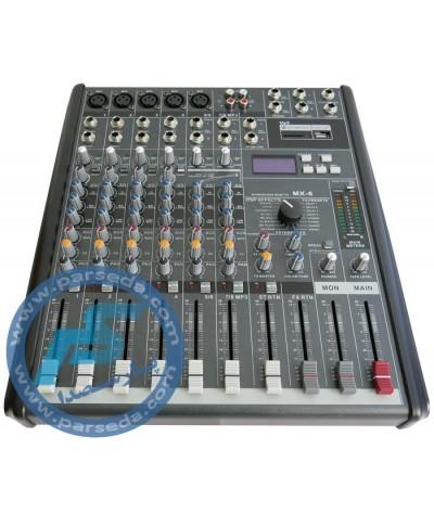میکسر 6 کانال MX6-USB