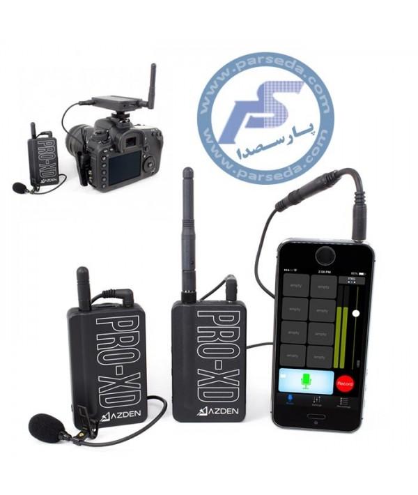 میکروفون بیسیم موبایل و دوربین AZDEN - PRO XD
