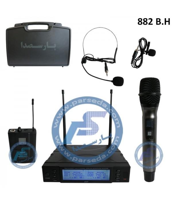 میکروفون بیسیم دستی یقه ای 82BH