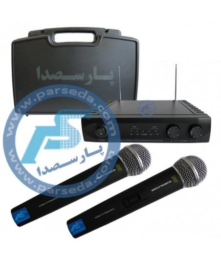 میکروفون بیسیم دو دستی 802HH