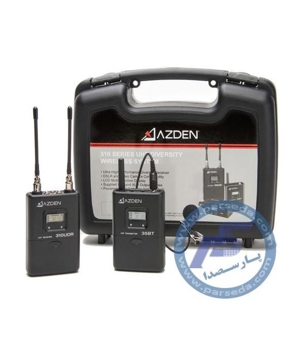 میکروفون HF بیسیم فیلم برداری AZDEN – 310LT