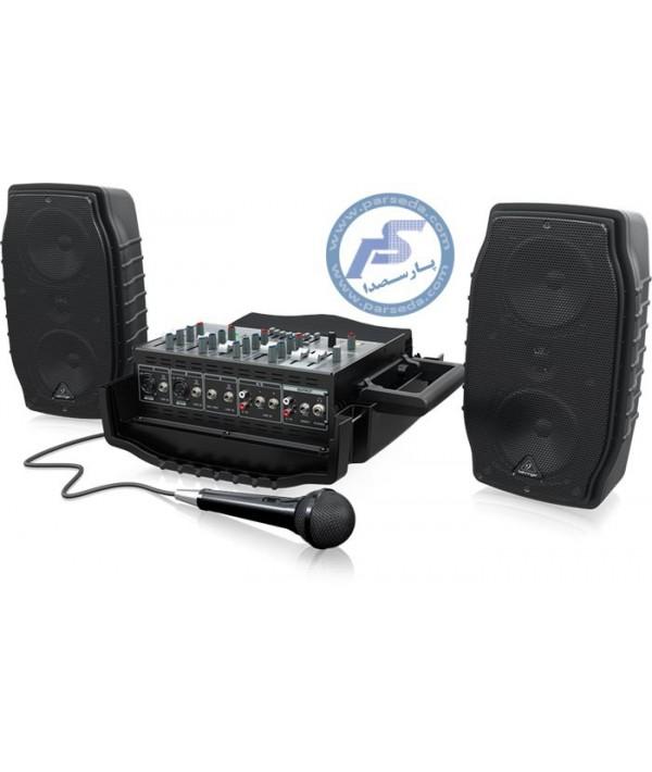 سیستم صوتی قابل حمل Behringer – PPA200