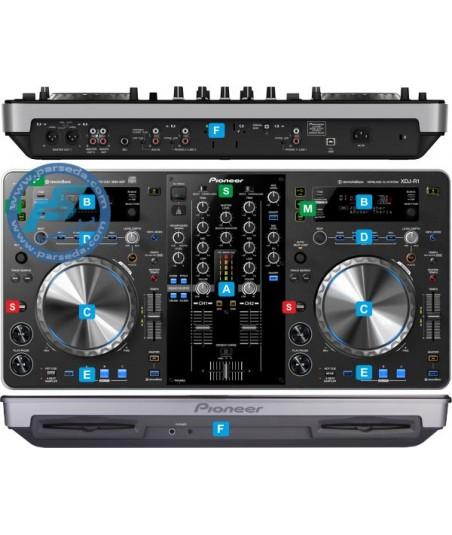 دی جی کنترلرPionner - XDJ-R1