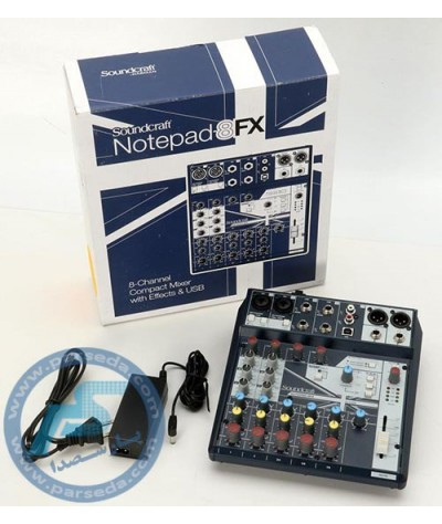 میکسر Soundcraft – Notepad 8FX