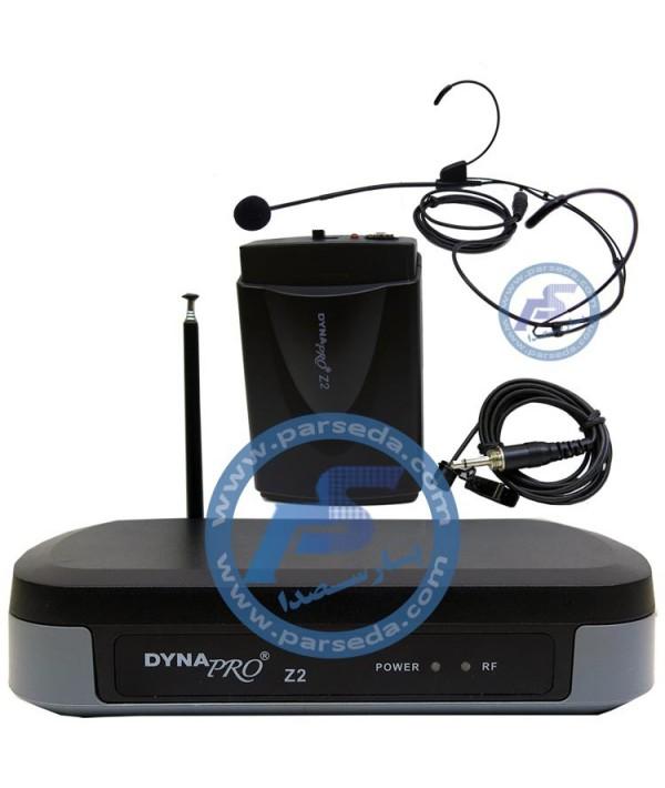 میکروفون بیسیم هدمیک DYNApro–Z2