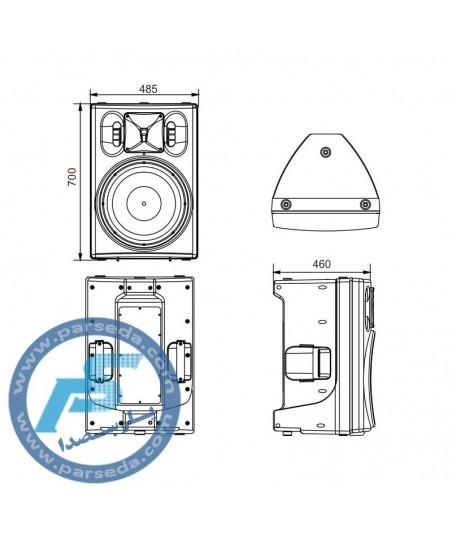 باند پسیو 15 اینچ iCON– U15