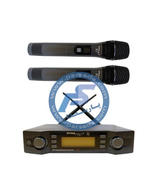 میکروفون بیسیم دو دستی Dynapro – Z7