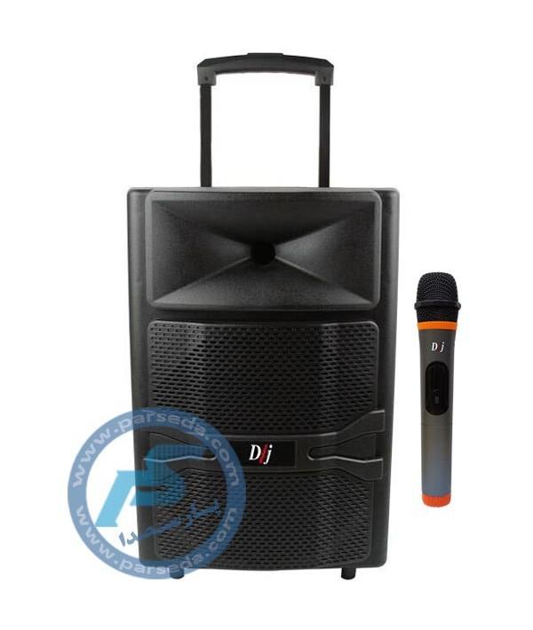 باند پرتابل شارژی 12 اینچ DJ – SMART 02