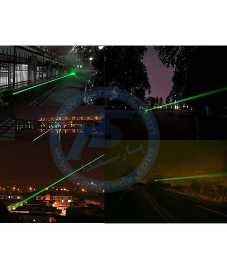 لیزر سبز کیلومتری موتوردار POINT