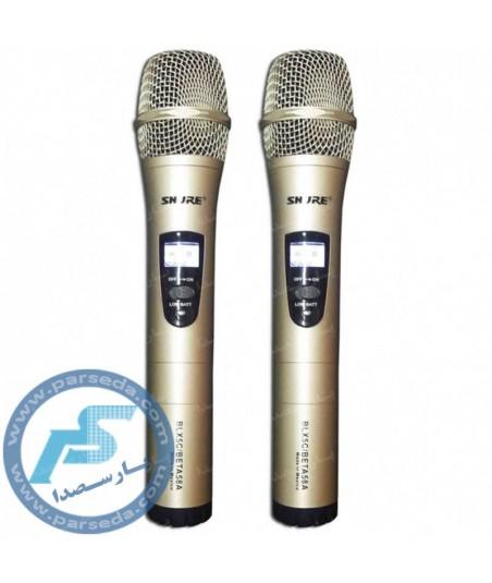 میکروفون بیسیم 2 کانال  SHURE – BLX5