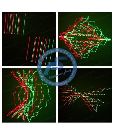 لیزر خطی سبز و قرمز YX030