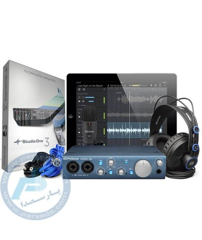 پکیج استودیوییPreSonus - AudioBox iTwo Studio ‎