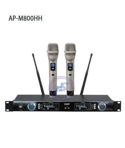 میکروفون بیسیم دو دستی AAP – 800HH